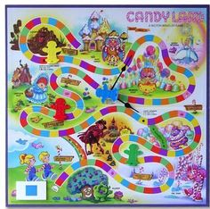 Candyland board from my childhood Candyland Board Game, Candyland Games, Candyland Decor, 90s Childhood, My Childhood Memories, Childhood Games, Tennessee Williams, Childrens Ministry Deals, Kids Ministry