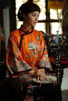 les vêtements du style de MinGuo