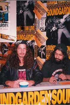Chris Cornell and Kim Thayil - Soundgarden