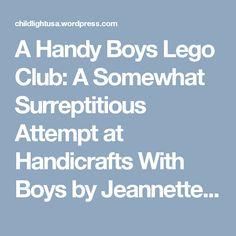 Journey And Destination Handicraft For Boys Handicrafts