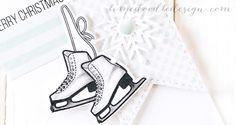 Debby Hughes - Lime Doodle Design - Simon Says Stamp Cold Hands, Warm Heart release - christmas, card, winter, skate, ice, snow