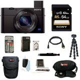 Sony DSC-RX100M III DSC-RX100M3 RX100M3 DSCRX100MIII RX100MIII Cyber-shot Digital Still Camera with Sony 64GB SDHC Class 10 Memory Card + Additional Focus NPBX1 battery and charger+ Focus Camera Case + Focus Accessory kit - http://onlinedigitalcamerasreviews.com/sony-dsc-rx100m-iii-dsc-rx100m3-rx100m3-dscrx100miii-rx100miii-cyber-shot-digital-still-camera-with-sony-64gb-sdhc-class-10-memory-card-additional-focus-npbx1-battery-and-charger-focus-camera-case/