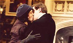 Sybil and Tom  | More Downton Abbey photos here:  http://mylusciouslife.com/historical-style-downton-abbey-photos/