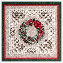 The Victoria Sampler - Christmas Wreath...