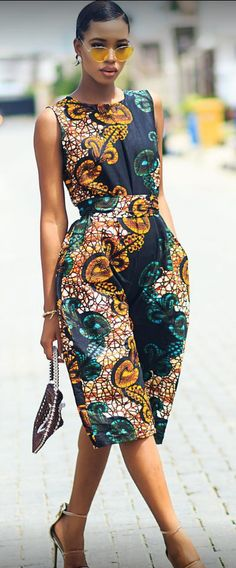 Rock the Latest Ankara Jumpsuit Styles these ankara jumpsuit styles and designs are the classiest in the fashion world today. try these Latest Ankara Jumpsuit Styles 2018 African Fashion Designers, African Inspired Fashion, African Print Fashion, Africa Fashion, Fashion Prints, African Print Dresses, African Fashion Dresses, African Dress, Ankara Fashion