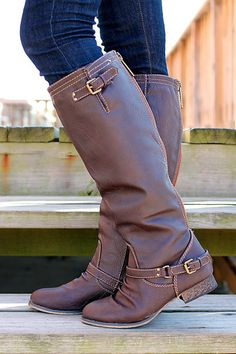 Buckle It Up Boot - Love this boot