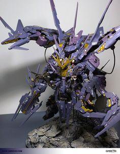 GUNDAM GUY: Gunpla Builders World Cup (GBWC) 2012 Singapore: 1/100 Project Vernicten Gundam Banshee RX-0-RGZ
