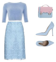 Cute by arianagrande1962 on Polyvore featuring polyvore, fashion, style, Norma J.Baker, La Cartella, Nina Ricci, women's clothing, women's fashion, women, female, woman, misses and juniors