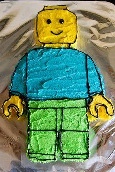 #Lego Minifigure #cake