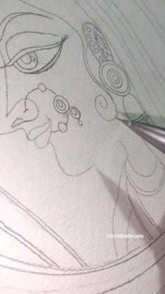 Art Drawings Sketches Simple, Art Drawings Beautiful, Watercolor Art Lessons, Art Painting Gallery, Doodle Art Designs, Canvas Painting Tutorials, Whatsapp Wallpaper, Mini Canvas Art, Indian Art Paintings