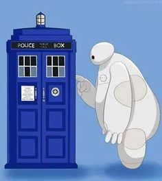 I'm not sure whether i should put it under doctor who or big hero 6. I'll just put it under both
