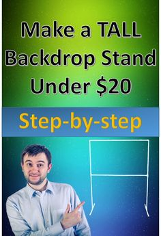 Step-by-step pictorial on how to make a backdrop stand and how to apply the backdrop. How To Make Backdrop, Photo Backdrop Stand, How To Make Banners, Photography Backdrop Stand, Photography Tips, Balloon Backdrop, Banner Backdrop, Backdrop Ideas, Sweet 16 Photos