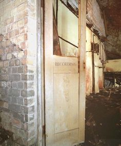 The underground chambers of the old Clifton railway became a secret operations base for the BBC during WW2
