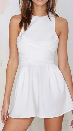 Cameo Trails Pleated Romper