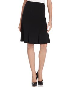 NY Collection Petite Skirt, A-Line Pull On - Skirts - Women - Macy's