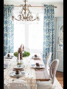 Christmas Decorating  The Dining Room  Miss Mustard Seed  Check Fair Miss Mustard Seed Dining Room Inspiration