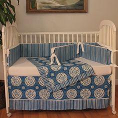 Found it at Wayfair - Medallion 4 Piece Crib Bedding Set