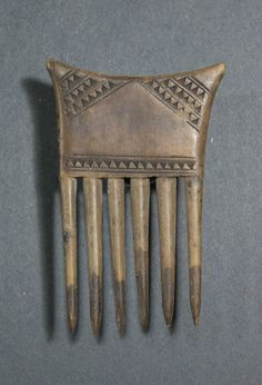 An African Comb from Ivory Coast Senefo | eBay