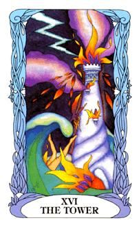 November 5 Tarot Card: The Tower (Moon Garden deck) Small efforts aren't enough now. To get where you really want to be, everything that currently stands must be torn down ~ have faith, it will be worth it