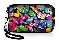 Butterfly Digital Camera Bag Mobile Phone Coin Purse Fr Canon Nikon Sony Samsung
