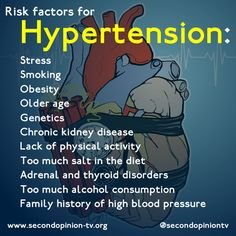 Hypertension, or high blood pressure, can lead to heart attack, stroke, aneurism and heart failure (just to name a few). Often times, symptoms don't occur until many years of damage has been done to your body. Know what contributes to hypertension and reduce your risk!