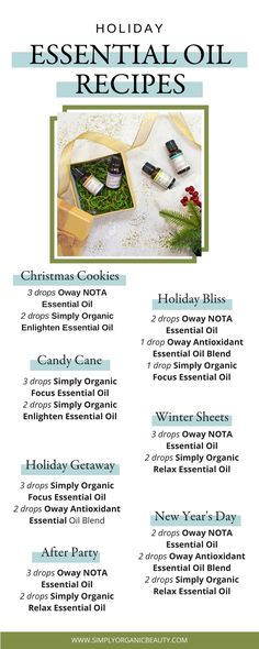 cb1bad068c8  BLOG  Holiday Essential Oil Recipe Guide From Simply Organic Beauty   holistichealth  holistic
