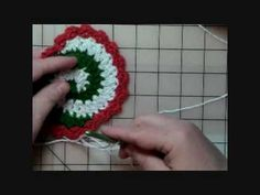 How to Crochet Pinwheel Coasters - Part One