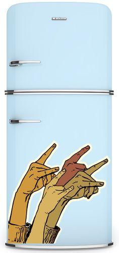 concert rocks fridge magnet.... must get...