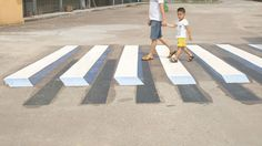 India To Use 3D Paintings As Speed Breakers To Slow Down Dangerous Drivers   Bored Panda