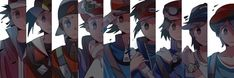 all male playable character in pokemon