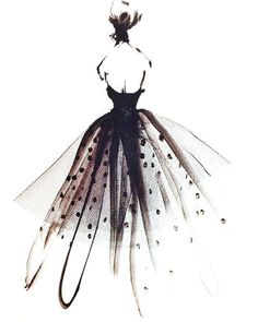 Dress         #dress #beautiful #paint #painting #black #fasion #color #follow #followforfollowback #