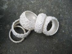 Silver rings | LINDA LEWIN-UK