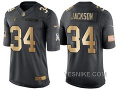 http://www.yesnike.com/big-discount-66-off-nike-oakland-raiders-34-bo-jackson-anthracite-2016-christmas-gold-mens-nfl-limited-salute-to-service-jersey.html BIG DISCOUNT ! 66% OFF ! NIKE OAKLAND RAIDERS #34 BO JACKSON ANTHRACITE 2016 CHRISTMAS GOLD MEN'S NFL LIMITED SALUTE TO SERVICE JERSEY Only $26.00 , Free Shipping!