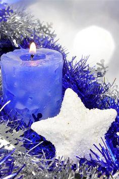 Christmas Candle desktop PC and Mac wallpaper Christmas Candles, Blue Christmas, Christmas Holidays, Christmas Decorations, Diy Candles, Pillar Candles, Mac Wallpaper, Beautiful Candles, Christmas Wallpaper