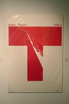 Pre-Postmodern Swiss Posters Exhibit - Armin Hofmann