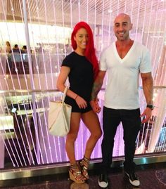 Her boyfriend and her ( eva Marie) from wwe