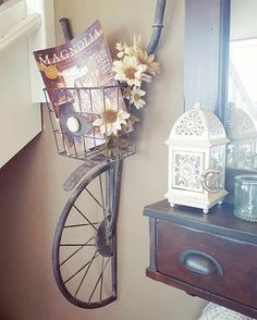 Simply awesome! Loving how Kala styled our Bike #WallDecor. Thanks for including us in your #home! #homedecor