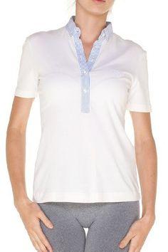 Dolce & Gabbana White Cotton Short Sleeve Top Blouse, 40, White Dolce & Gabbana. $110.00