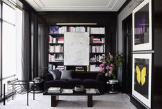 One Kings Lane/estante escura