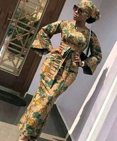 Muslim Fashion, African Dress, Wax, Fashion Dresses, Dresses With Sleeves, Long Sleeve, African Outfits, Dress, Fashion Show Dresses