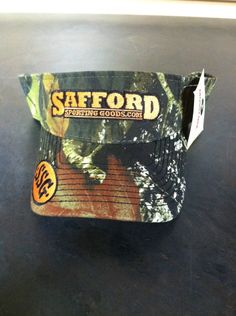 Safford Sporting Goods Logo Visor https://saffordsportinggoods.com/shop/clothing/safford-sporting-goods-logo-visor/