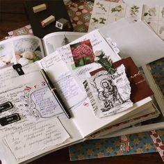 Дневник заполняется довольно быстро. Чувствую, придется делать еще один.