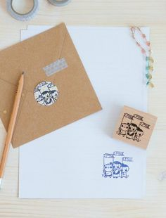Stationery Designed to Make you Happy Stationery Design, Are You Happy, Stamp, Make It Yourself, How To Make, Stamps, Stationary Design