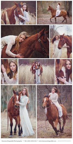 Fairytale horse photo session. Beautiful vintage dress. Demure Dragonfly Photography. Dalton, GA and Chattanooga photographer.
