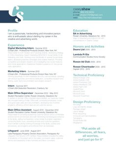 Resume format, Resume styles and Resume on Pinterest