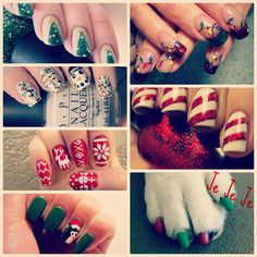Christmas coming, and these nail polishes look great, no doubt girls!!