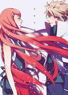 Minato and Kushina - I'm not crazy about Naruto, but I do like this couple