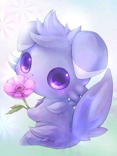 espurrrrrrr is soooo cute - Tattoo~Ideen - Pokemon Solgaleo Pokemon, Kalos Pokemon, Gijinka Pokemon, Pokemon Fan Art, Cute Animal Drawings, Cute Drawings, Pokemon Mignon, Desu Desu, Cute Pokemon Wallpaper