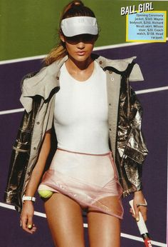 Teen Vogue, tennis anyone?