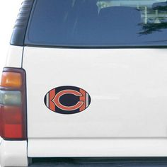 "Chicago Bears Jersey 6"" x 6"" Oval Full Color Magnet - $5.99"